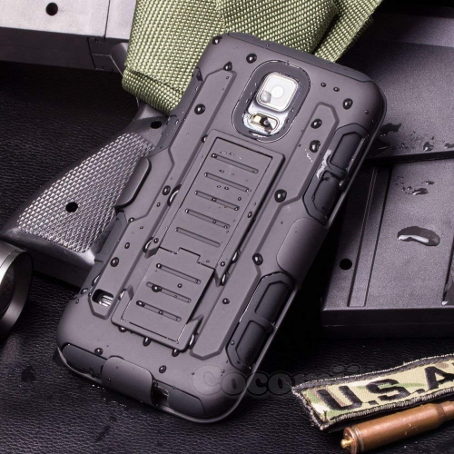 Cocomii Holster Case for Samsung Galaxy S5 - Black