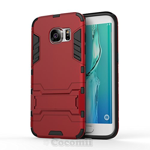 Galaxy S7 Edge Case, Cocomii Iron Man Armor NEW [Heavy Duty] Premium Tactical Grip Kickstand Shockproof Hard Bumper Shell [Mil