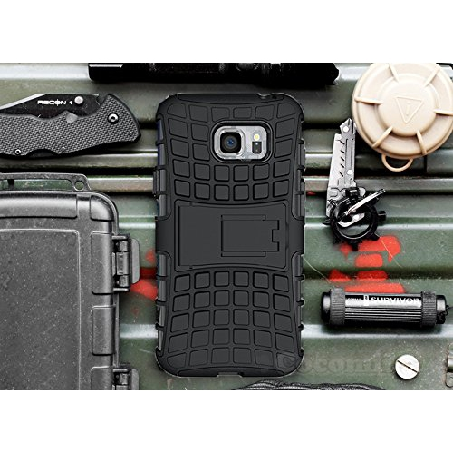 Galaxy S7 Case, Cocomii Grenade Armor NEW [Heavy Duty] Premium Tactical Grip Kickstand Shockproof Hard Bumper Shell [Military