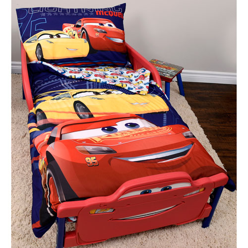 Disney Cars 3 Piece Bed Sheet Set   Toddler : Kids U0026 Toddler Bedding   Best  Buy Canada