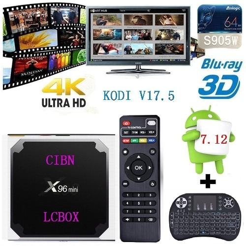 bc7ab4e865dfa RoastedCanuck 2018 X96 mini Android 7.12 v17.5 Smart TV BOX Amlogic S905W  Quad Core H.265 4K 30tps 2.4GHz WiFi Media Player IPT   Media Streamers -  Best Buy ...