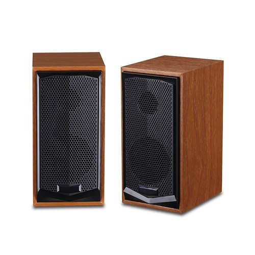Havit HV-SK518 USB plug power 2.0 pcs 3.5 mm Wood Speaker (Wood color)