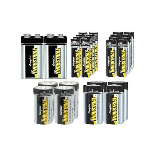 dd78acc358b 8 AA + 8 AAA + 4 C + 4 D + 2 9 Volt Energizer Industrial Alkaline Battery  Combo   Other Batteries - Best Buy Canada