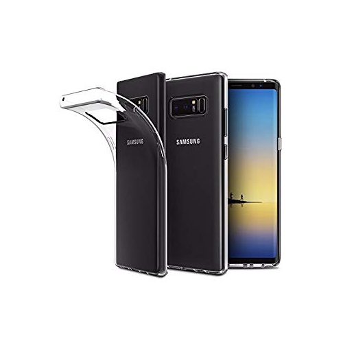 Samsung Galaxy Note 8 Case Cover, EasyAcc Soft TPU Crystal Clear Slim Anti Slip Case Transparent Back Protector Cover for Sams
