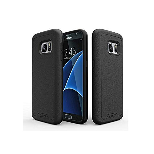 Galaxy S7 Case, J&D [Slim Armor] Samsung Galaxy S7 Case [Heavy Duty] [Dual Layer] Hybrid Shock Proof Fully Protective Case for
