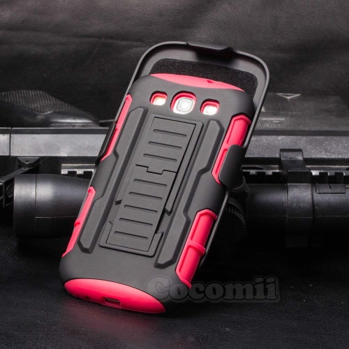 Cocomii Holster Case for Samsung Galaxy S3 - Red