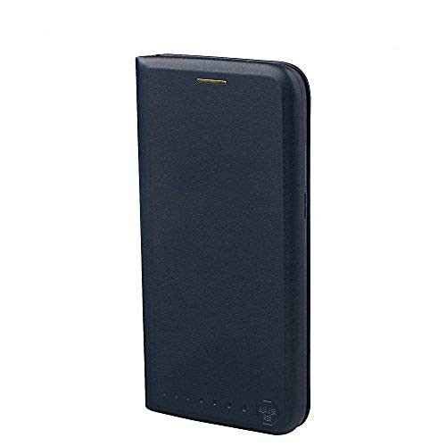 Nouske Samsung Galaxy S7 Edge Wallet Case with Credit Card Holder and Stand Shockproof PU leather Flip Bumper,Navy Blue