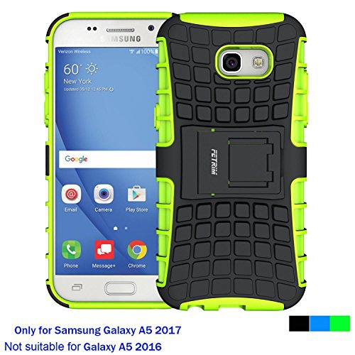 Case for Samsung Galaxy A5 2017 ,Fetrim Rugged Dual Layer Shockproof TPU Case Protective Cover for Samsung Galaxy A5 2017 with