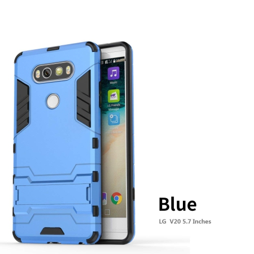 uk availability 747b6 59c1f Lrker Fitted Soft Shell Case for LG V20 - Blue