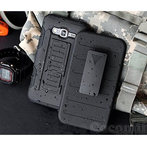Galaxy J7 Case, Cocomii Robot Armor NEW [Heavy Duty] Premium Belt Clip Holster Kickstand Shockproof Hard Bumper Shell [Militar