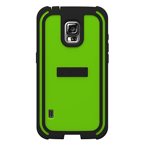 TRIDENT Samsung Galaxy S 5 Active Cyclops Series Case Green Retail Packaging