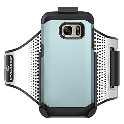 Workout Armband for Spigen Tough Armor Case - Samsung Galaxy S7 EDGE (Sweat-resistant band) Encased Products (case is not incl