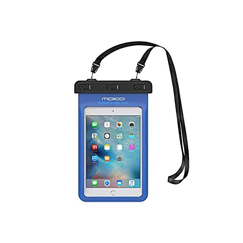 Universal Waterproof Case, MoKo Dry Bag Pouch for iPad Mini Retina, Mini 2/4, Tab 2/3/4/5, Tab S2 8.0, Tab E 8.0, Tab A 8.0, L