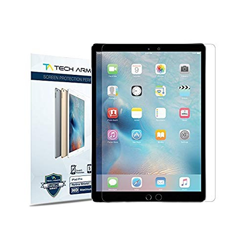 iPad Pro Screen Protector, Tech Armor Blue Light Filter for 12.9-inch Apple iPad Pro - Great for Kids - Prevent Eye-Strain - L