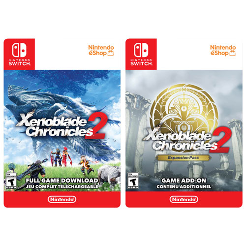 Xenoblade Chronicles 2 and Expansion Pass Bundle - Digital Download