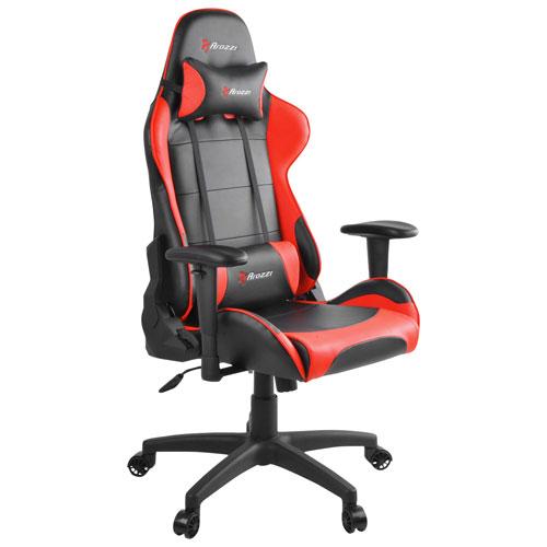 Arozzi Verona V2 Ergonomic Pleather Gaming Chair Red Gaming