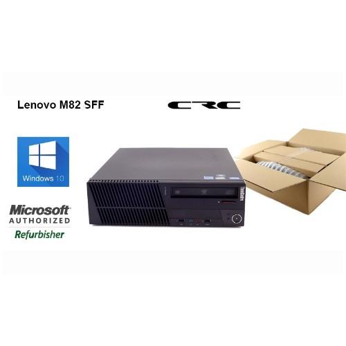 Lenovo M82 3306 SFF Intel i5 3470 3.2G, 4G, 250G, DVDRW, Windows 10 Professional, Refurbished, 90 Days Warranty