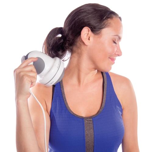 truMedic InstaShiatsu+ Handheld Percussion Massager