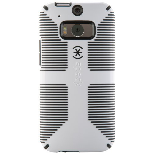 Speck Products CandyShell Grip Case for HTC One M8 Smartphone - White/Black