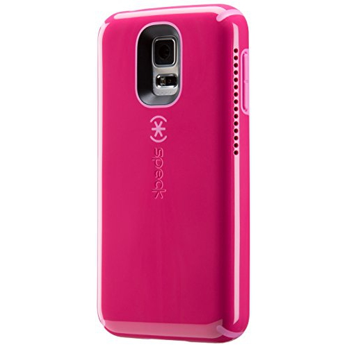 Speck Products CandyShell Amped Sound Amplification Case for Samsung Galaxy S5, Raspberry Pink/Shocking Pink