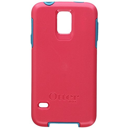 Otterbox SYMMETRY SERIES for Samsung Galaxy S5 - Frustration Free Packaging - TEAL ROSE (BLAZE PINK/LIGHT TEAL)