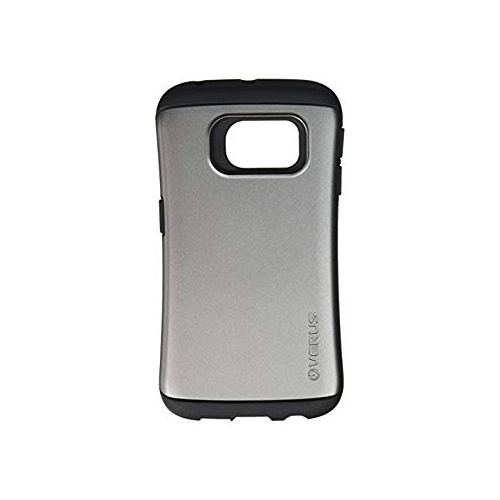 Verus Fitted Hard Shell Case for Samsung Galaxy S6 Edge - Dark Silver