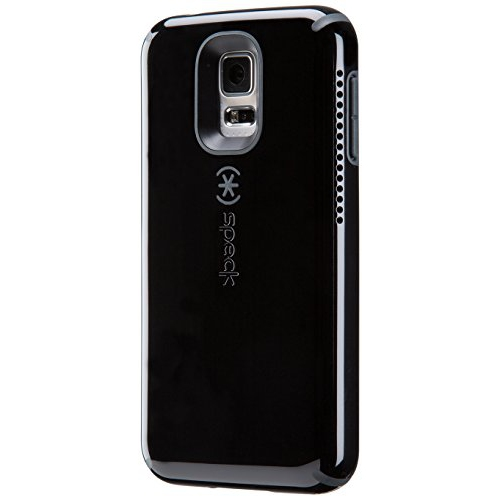 Speck Products CandyShell Amped Sound Amplification Case for Samsung Galaxy S5, Black/Slate Grey