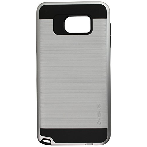 Verus Fitted Hard Shell Case for Samsung Galaxy Note 5 - Silver