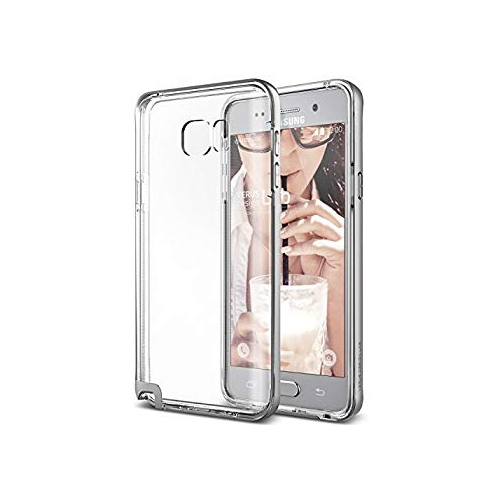 Galaxy Note 5 Case, Verus [Crystal Bumper][Satin Silver] - [Clear Cover][Military Grade Protection] For Samsung Galaxy Note 5