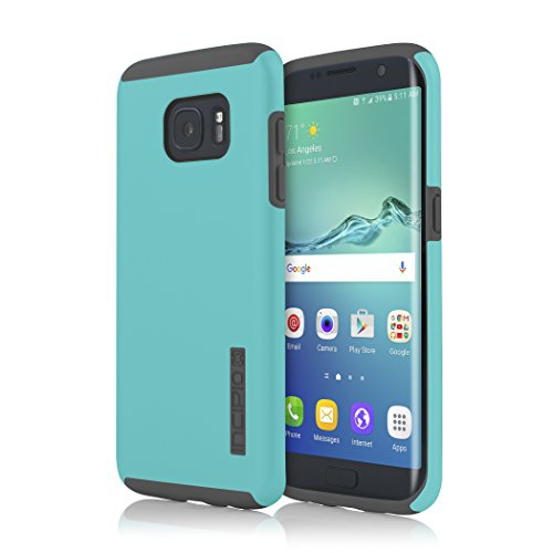 Incipio Samsung Galaxy S7 Edge Case, DualPro, Hard Shell Case with Impact-Absorbing Core Shock-Absorbing Impact-Resistant Dual