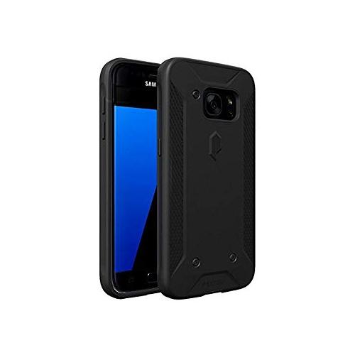 Poetic Cases Quarterback Heavy Duty Protection Stylish PC Plus TPU Hybrid Case for Samsung Galaxy S7 Black