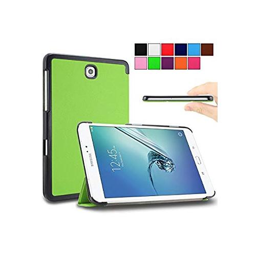 Galaxy Tab S2 9.7 Case - Infiland Samsung Galaxy Tab S2 9.7 case, Ultra Slim Tri-Fold Smart Shell Case Cover for for Galaxy Ta