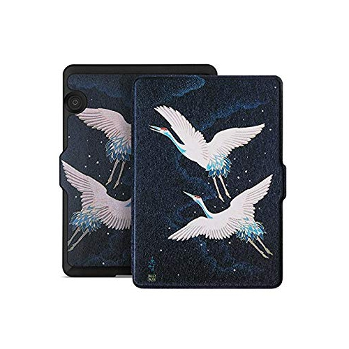 Ayotu Case for Kindle Voyage E-reader Auto Wake and Sleep Smart Protective Cover, For Amazon 2014 Kindle Voyage Painting Serie