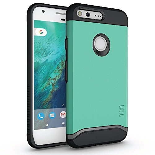 san francisco 24212 7d89d New! Google Pixel XL Case, TUDIA Slim-Fit HEAVY DUTY [MERGE] EXTREME  Protection / Rugged but Slim Dual Layer Case for Google Pixel - Online Only