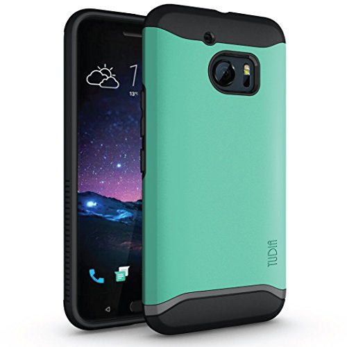 quality design 6c8ae 7c487 Tudia Fitted Hard Shell Case for HTC One; 10 - Mint