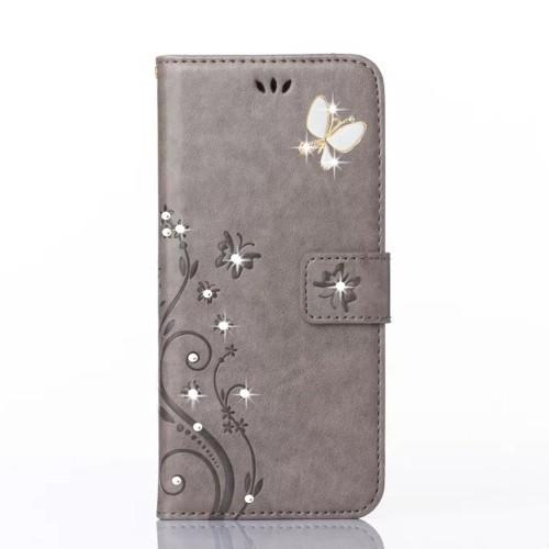 Galaxy S5/Galaxy S5 Neo 5.1inch Elegant Wallet Case, Galaxy S5 Neo Beautiful and Cute Case , Luxury 3D Fashion Handmade Bling