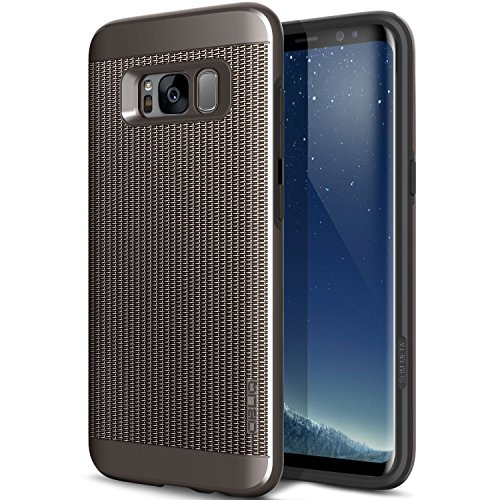 Obliq Meta Case with Slim Design Impact and Shock Absorbing protection Cover for Samsung Galaxy S8 (2017) - Gun Metal