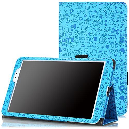 LG G Pad 8.3 Case - MoKo Slim Folding Cover Case for LG G PAD 8.3 Wifi Version V500/V510 & Verizon 4G LTE VK810, Cutie Charm B