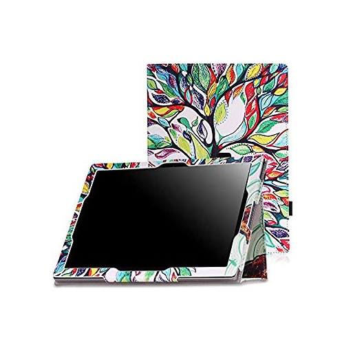 MoKo Google Pixel C Case - Slim Folding Cover Case with Auto Wake / Sleep for Google Pixel C 10.2 Inch 2015 Tablet, Lucky TREE