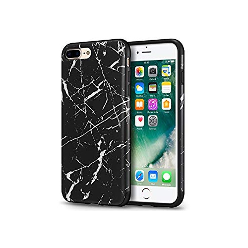 finest selection 478d6 d7dd9 Mthinkor iPhone 8 Plus Case iPhone 7 Plus Case Marble Pattern Design Slim  Anti-Scratch Soft Case Cover for iPhone 7 Plus and i