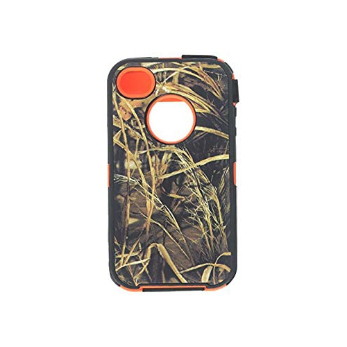 Generic MC0132 Cell Phone Case for iPhone 4s - Non-Retail Packaging - Black