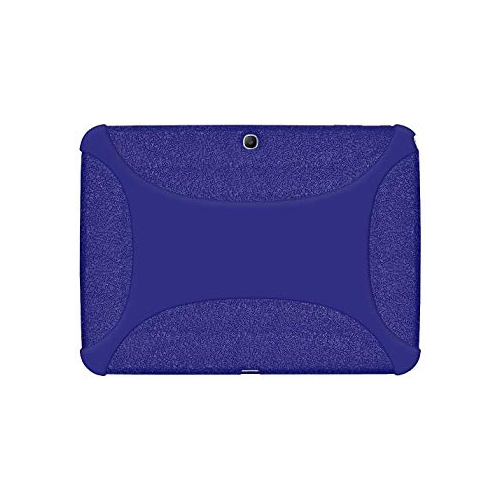 Amzer AMZ96104 Soft Silicone Jelly Skin Fit Case Cover for Samsung Galaxy Tab 3 10.1-Inch P5200 5210 5220, Blue