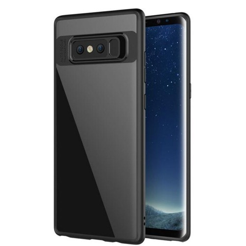 Galaxy Note 8 Case, Cornmi Scratch-Resistant Clear Acrylic Back Cover Soft TPU Edge Shock Absorbent Bumper for Samsung Galaxy