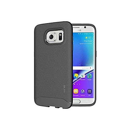 TUDIA Full-Matte ARCH TPU Bumper Protective Case for Samsung Galaxy S7 Edge (Gray)
