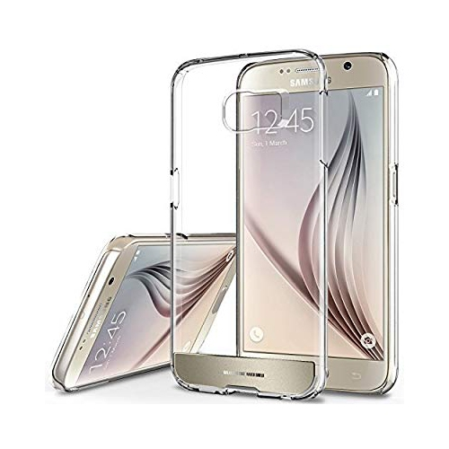Obliq Fitted Hard Shell Case for Samsung Galaxy S6 - Clear; Gold; Platinum