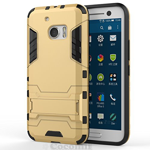 low priced ced0d 4e57f Cocomii Fitted Hard Shell Case for HTC 10 - Gold