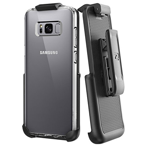 Belt Clip Holster for Spigen Clear Back Case - Samsung Galaxy S8 (By Encased) (case not included)