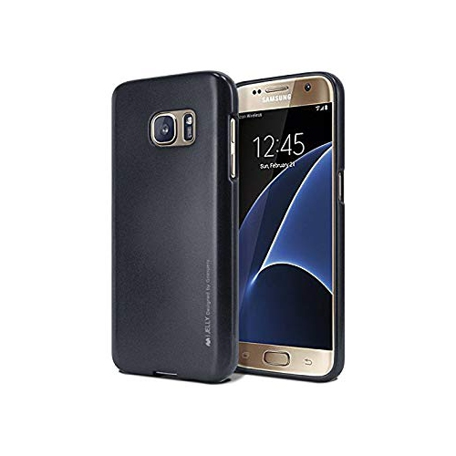 Galaxy S7 Case, [Ultra Slim Fit] Goospery? i-Jelly Case [Metallic Finish] Premium TPU Case Cover [Anti-Yellowing / Discoloring