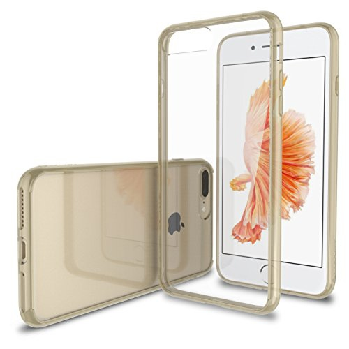 Luvvitt Clear View Iphone 7 Plus Iphone 8 Plus Case With Hybrid Scratch Resistant Back And Shock Absorbing Bumper For Apple Best Buy Canada
