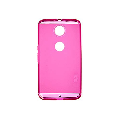 TUDIA Ultra Slim LITE TPU Bumper Protective Case for Google Nexus 6 (Purple)